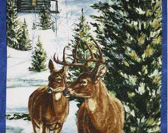 1 Panel (2/3) yd - Winter Stillness (Flannel) by Wilmington Prints