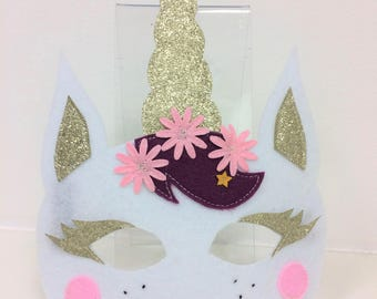 Small Unicorn mask