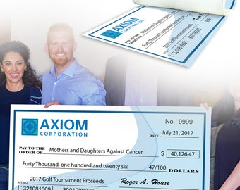 giant check oversize check 12x24 18x36 or, Powerpoint templates