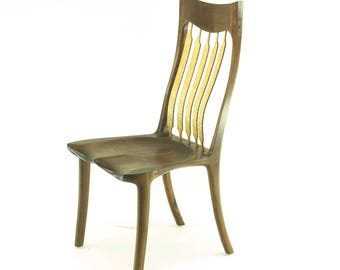 Sculpted dining chair