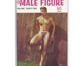 Vol.32 - Uncirculated Vintage Issue Of The Male Figure Magazine - Color And Black And White Photos