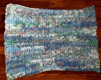 Crochet rag rug, crochet, rag rug, rug, upcycle rug, area rug, home decor, decor, floor rug, handmade rug, home decor rug, decor rug,