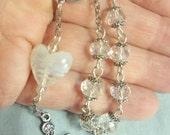 Finger rosary, Single decade rosary, Catholic rosary, Dominican rosary, Rosary, Prayer beads, Hail Mary Beads