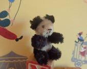 1950's Schuco Talisman miniature mohair Panda Teddy Bear