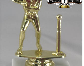 12(TWELVE) Male T-Ball Trophies - Tee Ball Awards - Kids Trophies - Tee Ball Team Awards - Boys Baseball