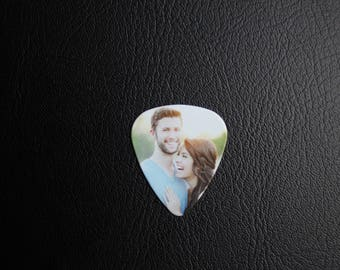 Personalized Guitar Pick, Custom Photo Guitar Pick, Gift for Him, Photo with Text, Keepsake Gift, Great gift idea, Christmas