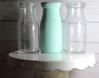 DIY Baby Shower Decorations Milk Bottles  Centerpiece Vase