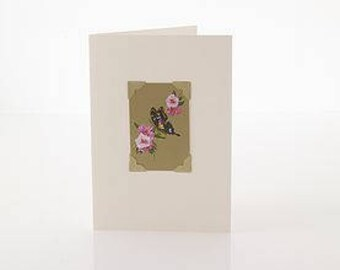 Art Deco Greetings Card: Nature by Vintage Playing Cards FREE UK SHIPPING!