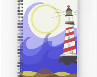 Art Notebook Lighthouse