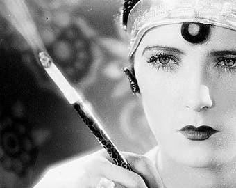 1920's Actress Evelyn Brent, Black and White, Multiple Sizes [730-761], Jazz Age, Flapper