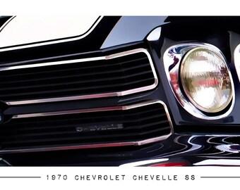 1970 Chevrolet Chevelle Super Sport Poster