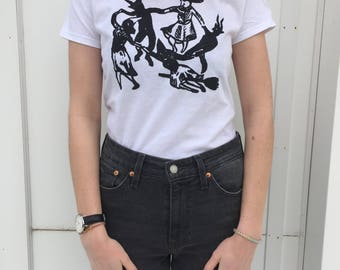 MATISSE dancing witches shirt
