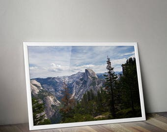 Half Dome, Yosemite, National Park, Yosemite Print, Yosemite Photography, Travel Photography, Nature Photography, Landscape, California