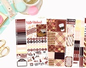 Sweater Weather Deluxe Kit, planner stickers