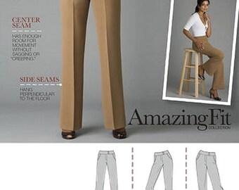 Women's Pants/Slacks Sewing Pattern UNCUT Simplicity 2700 Miss Size 14-22