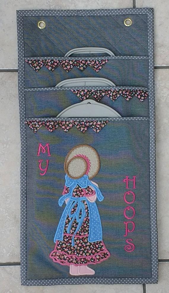 Embroidery Hoop Hanger Pattern