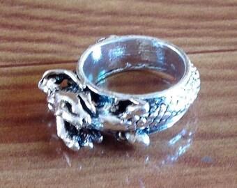 Ethnic Wolf Ring