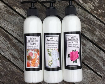 Body Lotion, Shea Butter, Natural Oils, Essential Oils, Non-Greasy, Moisturizer, 8 oz.