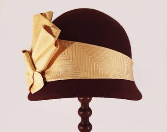 """Cloche hat """"Obi"""""""