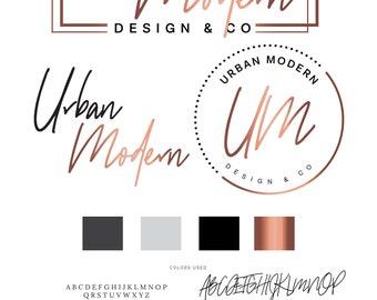 Salon Branding, Logo, Hair Logo, Branding kit, Logo Design, Premade Logo, Branding Package, Stamp, Salon Logo, Beauty Logo