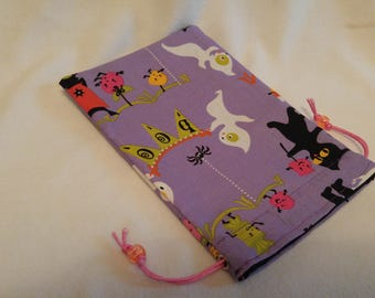 Cats Bats & Ghosts - 100% Cotton - Drawstring
