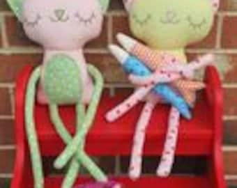 Pilchard & Perch a doll pattern.