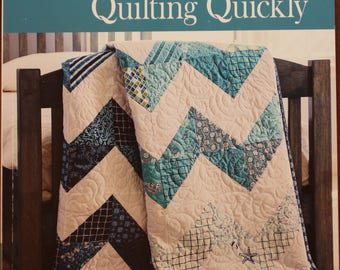 Quilting Quickly.  Best of Fons & Porter.  Quilting instructions.