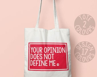 Your Opinion does not Define Me, personalised gift, protest, teen gift, gift, activist, campaign, resist, persisted, feminist, girl power