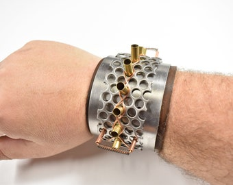 Bullet Shell spiked Bracelet with Electrocution option!