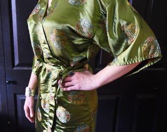 Vintage Asian Dressing Robe