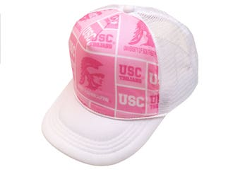 USC Pink Trucker Hat-Youth Size