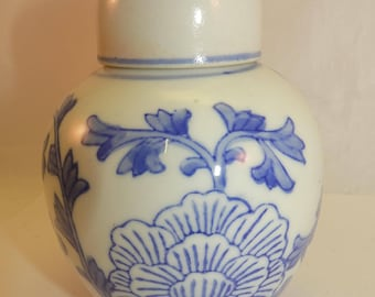 small blue&white  Chinese ginger jar
