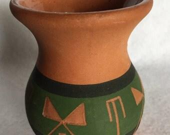 M. Blacktail Deer Pottery