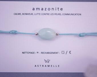Greed Amazonite bracelet