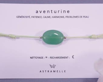 Greed Aventurine bracelet