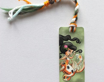 Koi Mermaid Bookmark