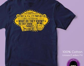 Bojack Horseman HSAC Unisex/Womens Fit T-shirt | Netflix | Aaron Paul | Quote | Game Show