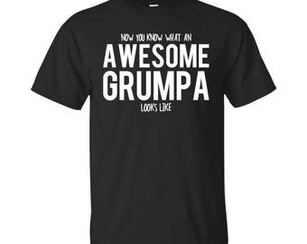 Grumpa Shirt, Grumpa Gifts, Grumpa, Awesome Grumpa, Gifts For Grumpa, Grumpa Tshirt, Funny Gift For Grumpa, Grumpa Gift, Grumpa To Be Gifts