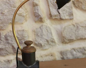 Cheese Grater lamp diverted