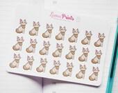 Felix Grumpy Cat Planner Stickers | Stationery for Erin Condren, Filofax, Kikki K and scrapbooking