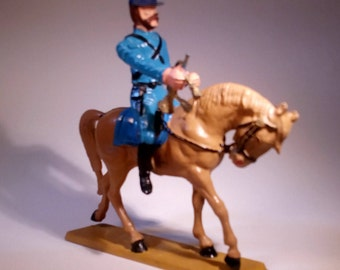STARLUX - Civil war - Playmobil Knight - Bugle - Vintage - 70's