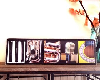 Music Room Decor Music Teacher Gift Music Room Art Musician Gift Unique  Music Gift For Her