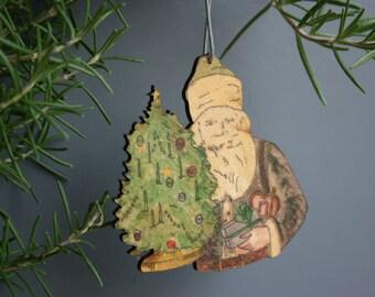 Father Christmas Christmas hanging
