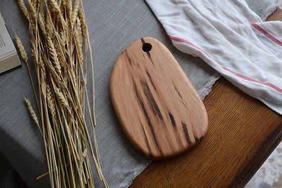 the Little Chef   Hickory bread board