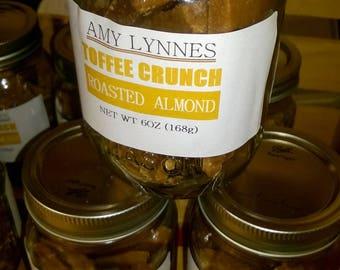 Roasted Almond Toffee - (2) 6oz. Jars