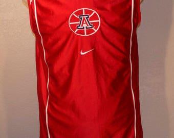 Arizona Wildcats Nike Reversible Basketball Jersey Large Red Blue