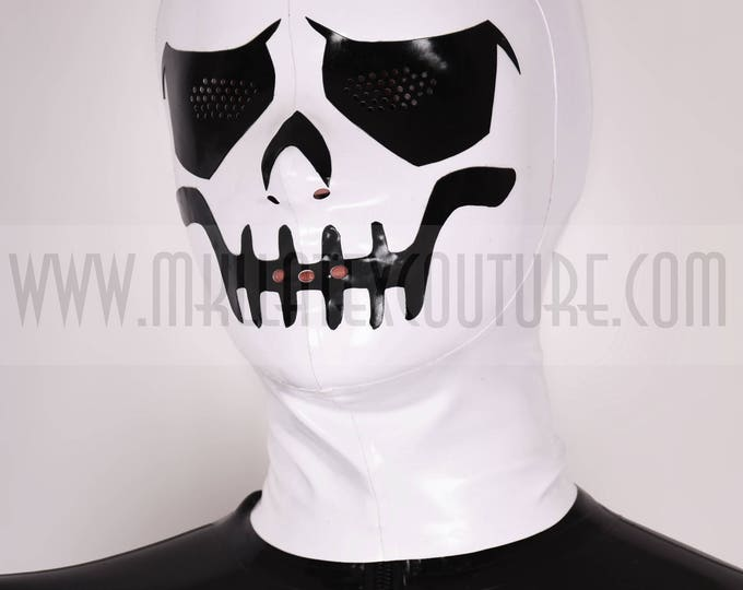 The Skull Latex Hood