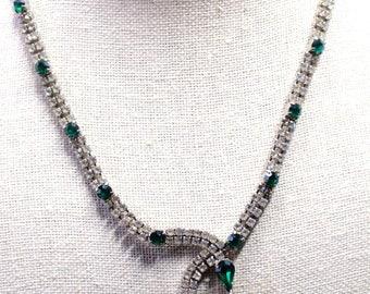 Kramer of NY Rhinestone Necklace