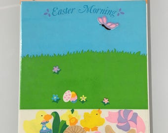 VintageSandion Easter Stickers. Activity Maxi Sheet. In orignal Packaging. 2 sheets