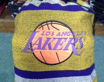 Lakers handmade backpack